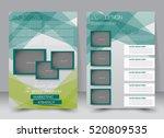 brochure template. business... | Shutterstock .eps vector #520809535