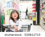 funny little child  little... | Shutterstock . vector #520812715
