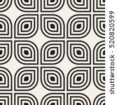 vector seamless pattern.... | Shutterstock .eps vector #520820599