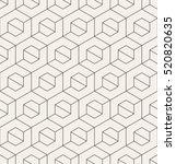 vector seamless pattern. modern ... | Shutterstock .eps vector #520820635