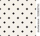 vector seamless pattern. modern ... | Shutterstock .eps vector #520820761
