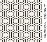 vector seamless pattern. modern ... | Shutterstock .eps vector #520820779