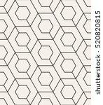 vector seamless pattern. modern ... | Shutterstock .eps vector #520820815