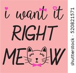 cat graphic for t shirt   Shutterstock .eps vector #520821571