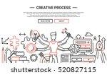 creative process   illustration ... | Shutterstock . vector #520827115