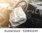Airbag Exploded At A Car...