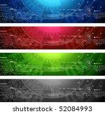 technology banners. volume 1 | Shutterstock .eps vector #52084993
