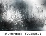 grunge brushed metal background.... | Shutterstock . vector #520850671