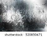 grunge brushed metal background.... | Shutterstock . vector #520850671