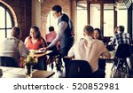 restaurant chilling out classy... | Shutterstock . vector #520852981