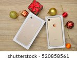 bangkok  thailand   november 23 ... | Shutterstock . vector #520858561
