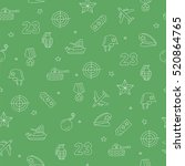 seamless vector pattern of... | Shutterstock .eps vector #520864765