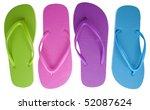Vibrant Colored Summer Flip...
