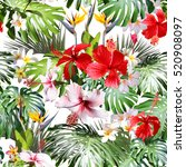 Amazing Tropical Pattern Photo Collage - Fine Art prints