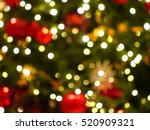 Blurred Photo Of Christmas...