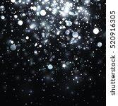 vector silver glowing light...   Shutterstock .eps vector #520916305