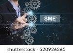 businessman hand select wording ... | Shutterstock . vector #520926265