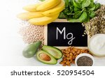 products containing magnesium.... | Shutterstock . vector #520954504