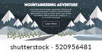 Mountaineering Winter Banner ...