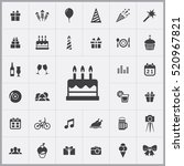 birthday cake icon. birthday...
