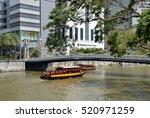 singapore  singapore   august 4 ... | Shutterstock . vector #520971259