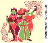 vector design of people...   Shutterstock .eps vector #520983235