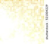 yellow random dots background ... | Shutterstock .eps vector #521004229