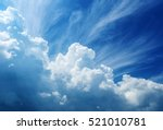 sky clouds | Shutterstock . vector #521010781