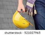 worker in a construction site | Shutterstock . vector #521027965