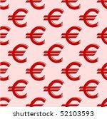 euro abstract seamless... | Shutterstock .eps vector #52103593