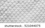 gray grey knitted carpet... | Shutterstock . vector #521044075