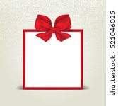 christmas holiday card with... | Shutterstock .eps vector #521046025