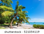 Stock photo tropical island 521054119