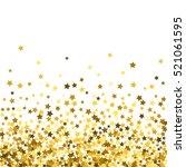 abstract pattern of random... | Shutterstock .eps vector #521061595