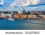 Summer Panorama Of Helsinki ...