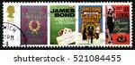 great britain   circa 1995  a... | Shutterstock . vector #521084455