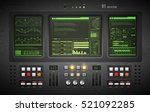 lo fi user interface. creative... | Shutterstock .eps vector #521092285