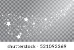 the mysterious starry space.... | Shutterstock .eps vector #521092369