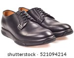 the man's shoes isolated on... | Shutterstock . vector #521094214