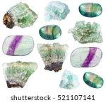 Set Of Various Fluorite...