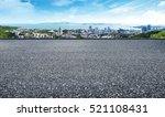 in front of the asphalt... | Shutterstock . vector #521108431