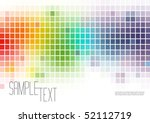 multicolor mosaic background | Shutterstock .eps vector #52112719
