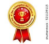 best employer of the year ... | Shutterstock .eps vector #521139115