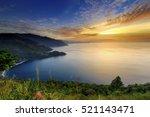 Beautiful Sunset In Lake Toba ...