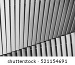 black and white aluminium... | Shutterstock . vector #521154691