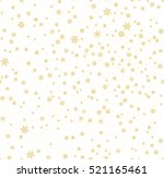 christmas seamless pattern with ... | Shutterstock .eps vector #521165461