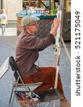 Public Painter Or Street Artis...