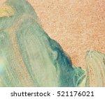 grunge abstract brush strokes... | Shutterstock . vector #521176021