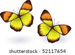 vector butterfly | Shutterstock .eps vector #52117654