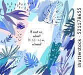 creative universal floral...   Shutterstock .eps vector #521178655